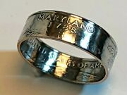 Maryland Ring State Quarter Coin Ring Hand Made