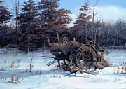 Terry Redlin Rusty Refuge Hand Signed Limited Edition Very Rare