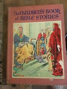 Vintage Antique Childrens Book From 1942 The Childrens Book Of Bible Stories