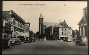Mint Usa Real Picture Postcard Rppc Ellis Square Beverly Ma View