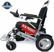 Culver Exclusive Dual Andldquo500wandrdquo Motors Deluxe Electric Wheelchair For Adults