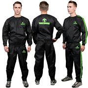 Fs Heavy Duty Sauna Suit For Men And Women Exercise Gym Fitness Weight Loss Suit