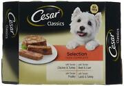8x150g Cesar Classics Dog Food Trays Mixed Selection Delicious And Healthy