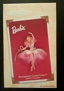 Hallmark Peppermint Candy Cane Barbie Ornament - Dated 2004