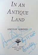 Amitav Ghosh In An Antique Land Signed Dated Brooklyn 1993 Hcdj 1st.1st.