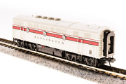 N-scale Broadway Limited 3489 Emd F3b, Cbandq 116-c, Greyback Freight Scheme