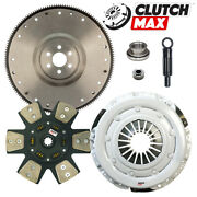 Stage 4 Race Clutch Kit And Flywheel 10.5 For 81-95 Ford Mustang 5.0l 302 Gt Lx