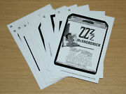 2018 Topps Wacky Packages Old School 7 Complete Pencil Rough 15-card Sketch Lot