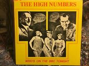 The Who The High Numbers Andldquowhoandrsquos On The Bbc Tonight Lp