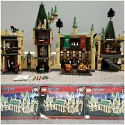 Lego Harry Potter 4842 Hogwarts Castle 4th Ed Minifigures And Manual Free Shipping