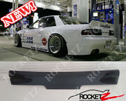 89-94 240sx S13 Silvia Jdm Rocket Style Ducktail Spoiler Wing 2dr Usa Canada