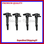 4pc Left Ignition Coil Uf639 Dg526 For Ford F150 F250 F350 Super Duty Ufd639