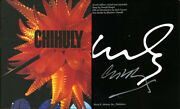 Dale Chihuly Signed Autographed Chihuly Famed Glass Sculptor Hc 1st Ed Bellagio