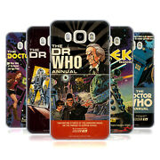Official Doctor Who Classic Annual Covers Hard Back Case For Samsung Phones 3