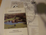 Leeds Castle Uk Guide 1978 By Geoffrey-lloyd, Wilson Home To Queens Of England