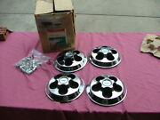 1969 Chevy Camaro Chevelle Accessory Wheel Cover Center Caps Set Nos 993804