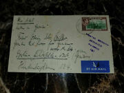 1941 Jamaica Prisoner Of War Womens Internment Camp Cover To Germany Red Cross