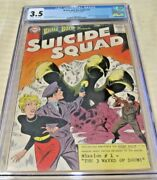 Brave And The Bold 25 1st App Suicide Squad Huge Mega Key Dc Issue Cgc 3.5 Nice