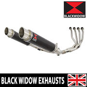 Z900rs And Cafe 4-2 De-cat Race Exhaust System + Gp Round Carbon Silencers Cg35r