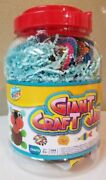 Anker Art, Giant Craft Jar,144 Pieces, Ages 5+,design One Of A Kind Crafts, New