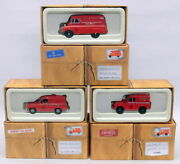 Corgi 1/43 Scale Royal Mail Gift Set Cp99136 Land Rover Ford Anglia Bedford