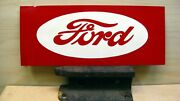 _ford Tractor Vintage Style - Custom Hand Painted Sign / Art