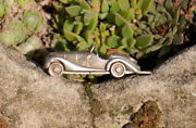 Very Nice Vintage Keychain Pendant Bmw 328 Sterling Silver 925