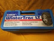 Wintertrac Lt Light Truck Vehicle Tire Traction Cables Fits 15, 16 And 17 Tires