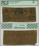 New York Ny 1860and039s Kathairon Advertising Note Vlack 2485 Pcgs F15 Neat
