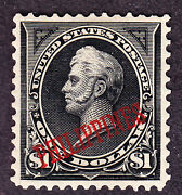 Us Philippines 223a 1 Perry Type Ii W/pf Cert Xf Og H Scv 2000