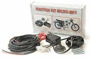 Electronic Ignition System Wassell Bsa/triumph/norton Single And Twin 6v