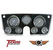 Gray 1967-72 Chevy C10 Truck Series Gauges Classic Instruments Ct67sg