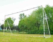 Soccer Goal 12and039 X 6and039 Football W/net Clips Anchor Ball Training Sets Sports New