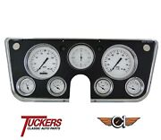 1967 68 69 70 71 72 Chevy C10 Truck Gauges Classic Instruments Ct67wh, White Hot