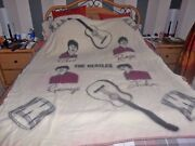 The Beatles Official Witney Wool Blanket From 1964 Amazing Condition 60 X 70