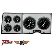 1973-87 Chevy Gmc Truck Hot Rod Direct Fit Gauges Classic Instruments Ct73hr