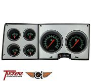 1973-87 Chevy Gmc Truck Direct Fit G-stock Gauges, Classic Instruments Ct73gs