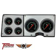 1973-87 Chevy Gmc Truck Direct Fit G-stock Gauges Classic Instruments Ct73gs