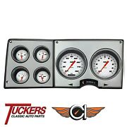 1973-87 Chevy Gmc Truck Gauges Classic Instruments Ct73vsw Velocity White