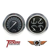 1954-1955 Chevy Gmc 3100 Truck Traditional Gauges Classic Instruments Ct54tr52