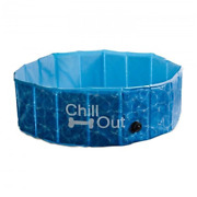 Dog Swimming Pool Pet Chill Out Plastic Puppy Bath Splash Fun All For Paws Cool