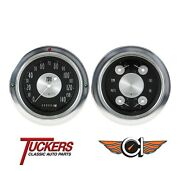 1954 55 Chevy Truck All American Traditional Gauges Classic Instruments Ct54at52