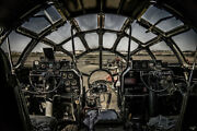 Super Fortress Cockpit By Chris Lord Photo Art Print Poster 12x18 Inch