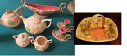 Mid Century Hull Usa Pottery Tea Set Teapot Console Candle Holder Pick One