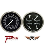 1947-53 Chevy Gmc Truck Traditional Gauges Tach Classic Instruments Ct47tr62