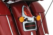 Kuryakyn Chrome Led Curved License Plate Frame 2014-2018 Indian Motorcycle 5699