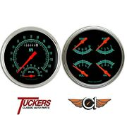 1947-53 Chevy Gmc 3100 Truck G-stock Gauges Tach Classic Instruments Ct47gs62