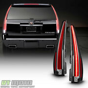 Upgrade Design For 2007-2014 Cadillac Escalade Esv Led Tail Lights Brake Lamps