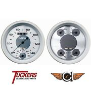 1947-53 Chevy Truck All American Nickel Gauges Tach Classic Instruments Ct47aw62
