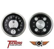 1947-53 Chevy Truck All-american Trad Gauges Tach Classic Instruments Ct47at62